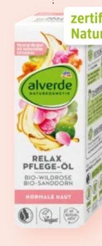 Relax Pflege-Öl Bio-Wildrose Bio-Sanddorn von Alverde