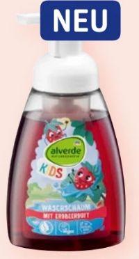 Kids Waschschaum Erdbeere von Alverde