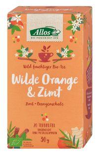 Bio-Tee Wilde Orange & Zimt von Allos