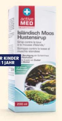 Isländisch Moos Hustensirup von Active Med