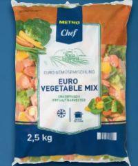 Euro-Gemüsemix von Metro Chef