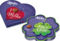 Geschenksherz von Milka