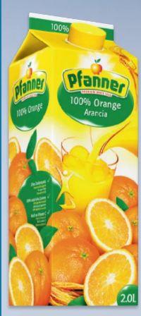 Orangensaft von Pfanner