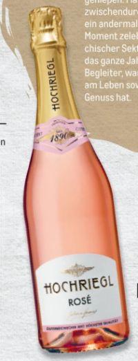 Sekt Rosé von Hochriegl