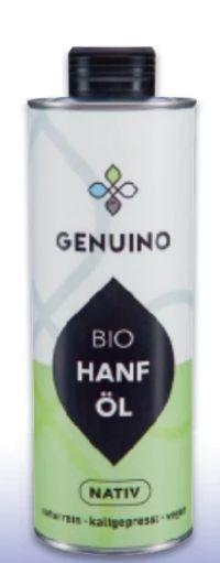 Bio Hanföl Nativ von Genuino
