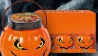 Halloween Plastik-Kürbis