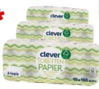 Toilettenpapier von Clever