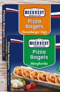 Pizza Bagels von Mcennedy