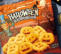 Kartoffelfiguren von Halloween