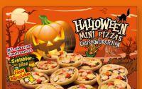 Mini Pizzas von Halloween