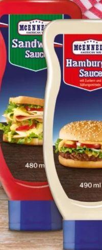 Grill-Sandwich-Sauce von Mcennedy