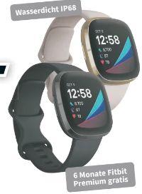 Gesundheits-Fitness Smartwatch Sense von Fitbit