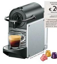 Nespresso Kapselmaschine Pixie EN 124.S von DeLonghi