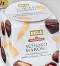 Schoko Maroni von Billa