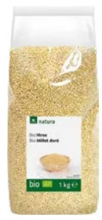 Bio Goldhirse von Natura