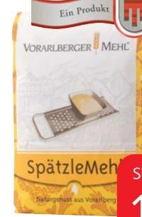 Spätzlemehl von Vorarlberger Mehl