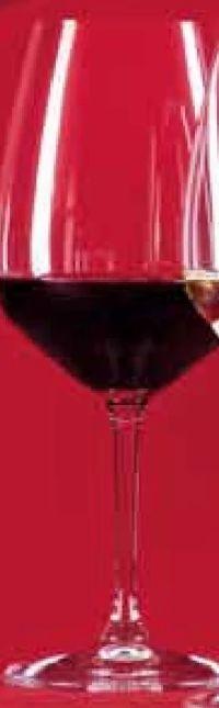 Rotweinglas von Riedel