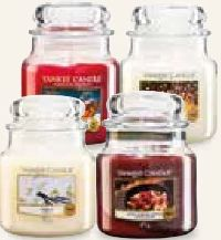 Glas Mittlere Duftkerze von Yankee Candle