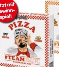 Teamcapi Rindersalami Pizza von Gangstarella