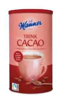 Trink Cacao von Manner