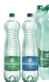 Mineralwasser von Römerquelle