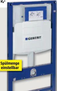 Wand-WC Montageelement Duofix UP320 von Geberit