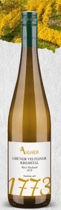 Grüner Veltliner Kremstal Ried Thalland von Weingut Aigner