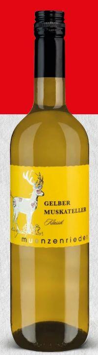 Gelber Muskateller von Weingut Münzenrieder