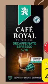 Espresso von Cafe Royal