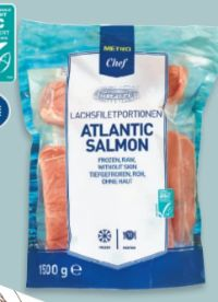 Lachsfilet Atlantic Salmon von Metro Chef