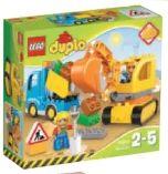 Bagger-Lastwagen 10812 von Lego Duplo