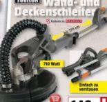 Wand-Deckenschleifer DWS 225 BT von Toolson