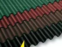 Bitumen-Wellplatte