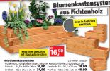 Holz-Blumenkastensystem
