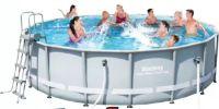 Schwimmbecken Power Steel Frame Pool 56451 von BestWay