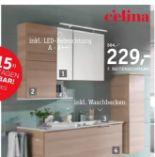 Badezimmer Quadra von Celina