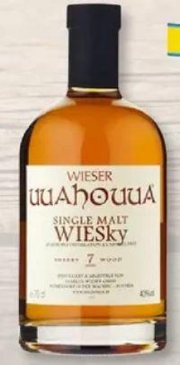 Single Malt Wiesky von Wieser Uuahouua