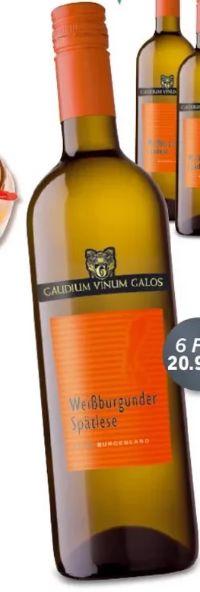 Weißburgunder Spätlese von Gaudium Vinum Galos
