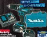Profi-Akku-Bohrschrauber DDF456RFE von Makita