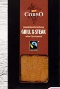 Grill & Steak Gewürzmischung von Billa Corso