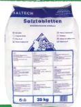 Salztabletten von Saltech