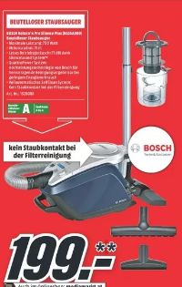 Staubsauger Relaxx'x Pro Silence Plus BGS5A300 von Bosch