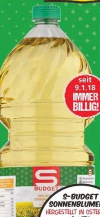 Sonnenblumenöl von S Budget