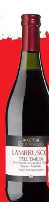 Lambrusco Reggiano Rosso Dolce von Medici Ermete