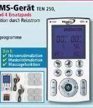 Tens-EMS-Gerät TEN 250 von Dittmann