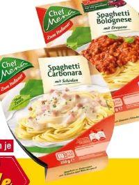 Spaghetti Bolognese von Chef Menü