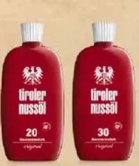 Sonnenmilch von Tiroler Nussöl