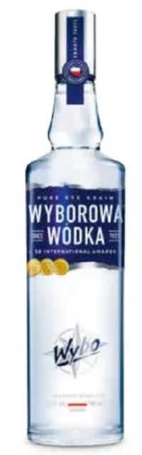 Wodka von Wyborowa