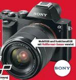 Vollformat-Systemkamera Alpha 7 von Sony