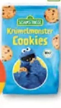 Bio Krümelmonster Cookies von Sesamstraße